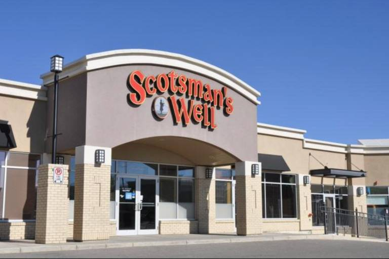 A photo of a Yaymaker Venue called Scotsmans Well located in Calgary, AB
