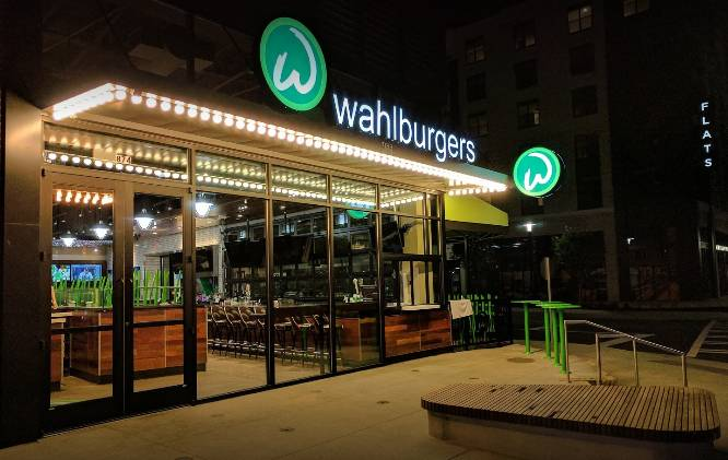 A photo of a Yaymaker Venue called Wahlburgers located in Atlanta, GA