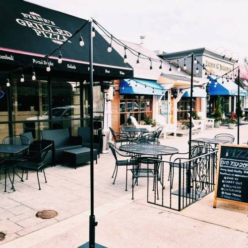 A photo of a Yaymaker Venue called Byrnes Grilled Pizza located in Indianapolis, IN