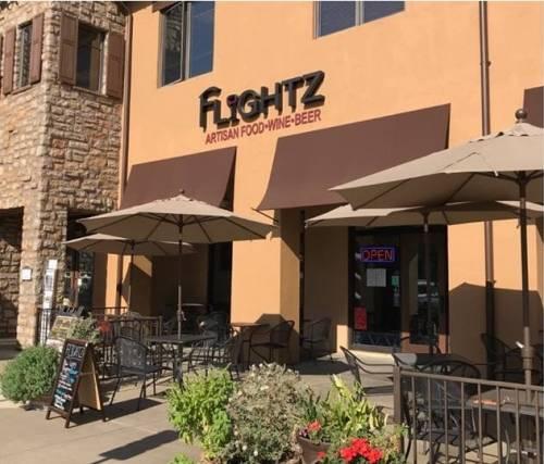 A photo of a Yaymaker Venue called FLIGHTZ WINE PUB located in El Dorado Hills, CA
