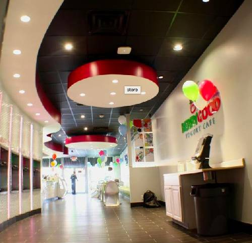 A photo of a Yaymaker Venue called Berry Good Yogurt Cafe-Patchogue-Child & Parent Event located in Patchogue, NY
