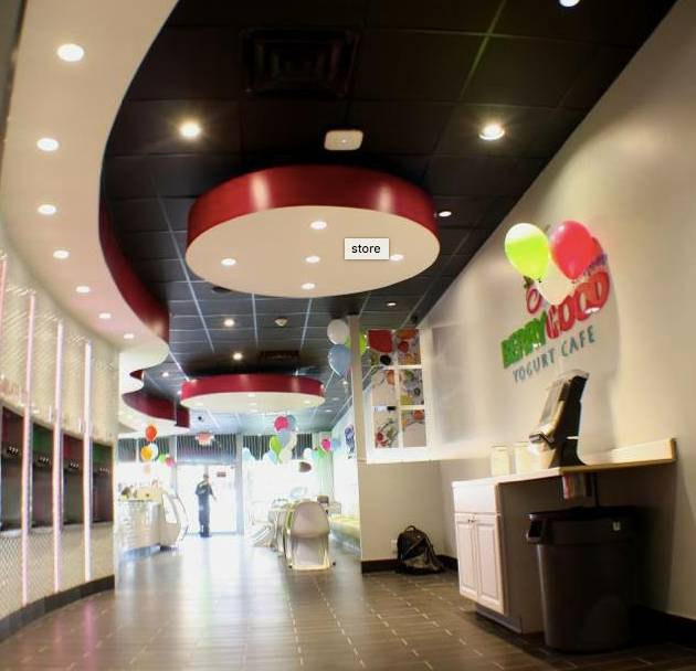A photo of a Yaymaker Venue called Berry Good Yogurt Cafe-Patchogue-All Age Event!! located in Patchogue, NY