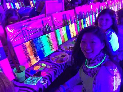 A photo of a Yaymaker Venue called Stereo Garden (Patchogue) -Black Light Glow Light Paint Party located in Patchogue, NY