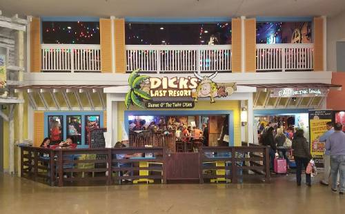 A photo of a Yaymaker Venue called Dicks Last Resort MOA (Bloomington, MN) located in Bloomington, MN