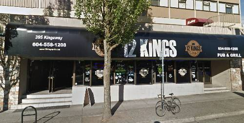 A photo of a Yaymaker Venue called 12 Kings Pub located in Vancouver, BC