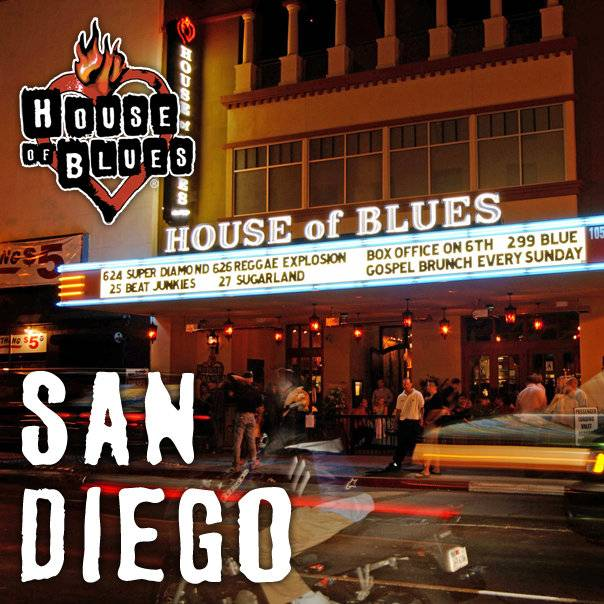 A photo of a Yaymaker Venue called HOUSE OF BLUES San Diego located in San Diego, CA