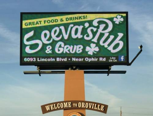 A photo of a Yaymaker Venue called Seeva's Pub located in Oroville, CA