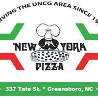 A photo of a Yaymaker Venue called New York Pizza located in Greensboro, NC