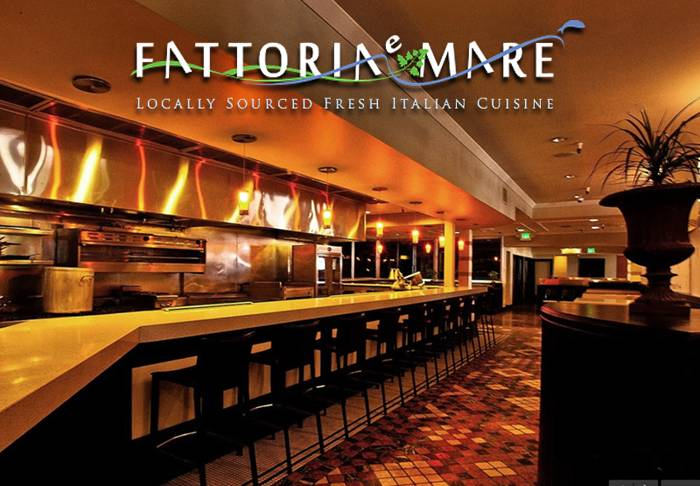 A photo of a Yaymaker Venue called Fattoria e Mare located in Burlingame, CA