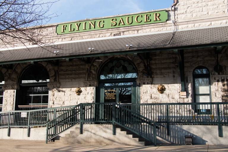 A photo of a Yaymaker Venue called Nashville Flying Saucer located in Nashville, TN