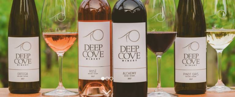 A photo of a Yaymaker Venue called Deep Cove Winery located in North Saanich, BC