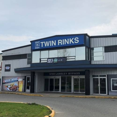 A photo of a Yaymaker Venue called Twin Rinks located in Langley, BC