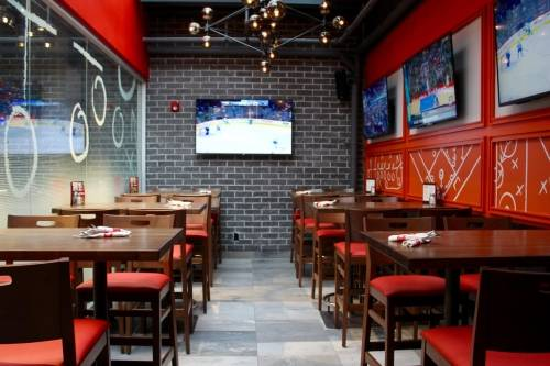A photo of a Yaymaker Venue called Boston Pizza Loft - Yonge Street and Gerrard located in Toronto, ON