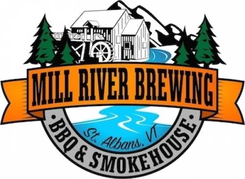 A photo of a Yaymaker Venue called Mill River Brewing BBQ & Smokehouse located in St. Albans, VT