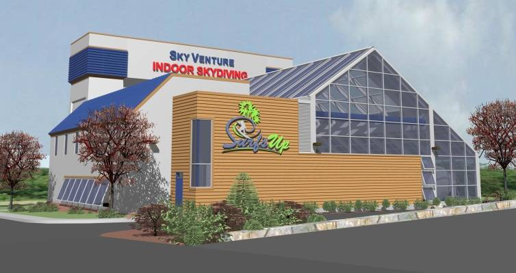 A photo of a Yaymaker Venue called SkyVenture & Surf's Up located in Nashua, NH