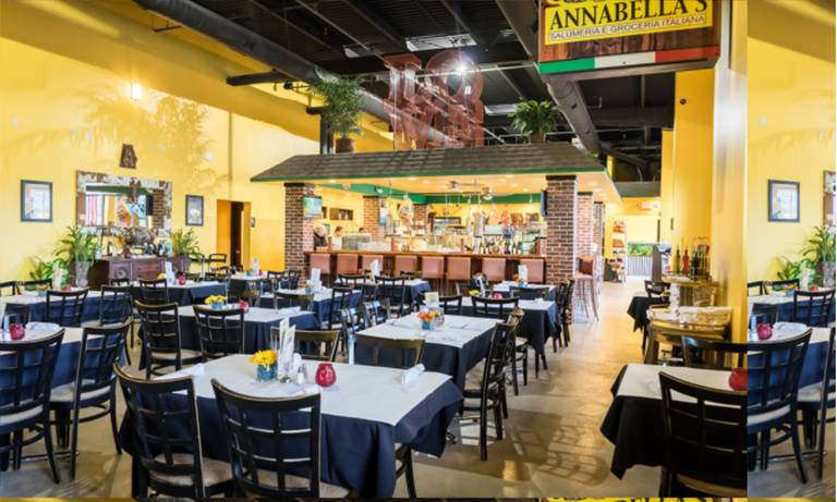 A photo of a Yaymaker Venue called Annabella's House of Mozzerella located in East Rutherford, NJ