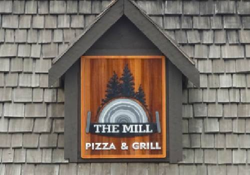 A photo of a Yaymaker Venue called The Mill Pizza & Grill located in Mill Bay, BC