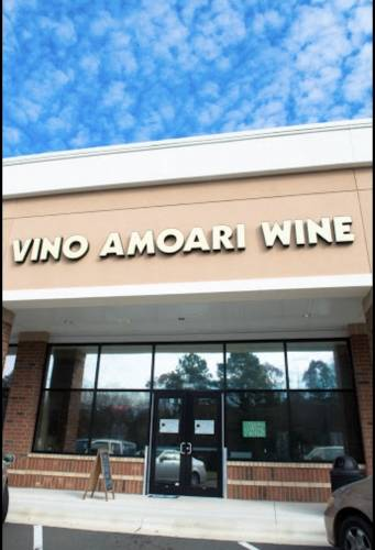 A photo of a Yaymaker Venue called Vino Amoari Wine Bar located in Raleigh, NC