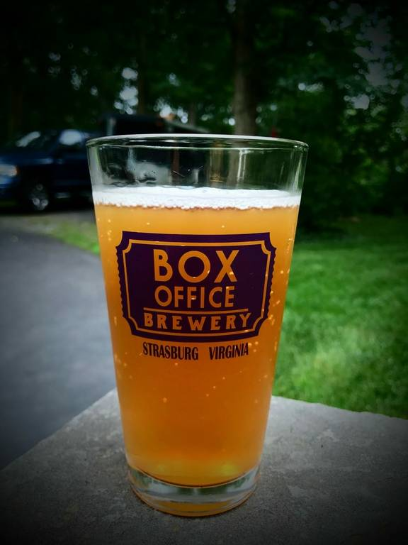 A photo of a Yaymaker Venue called Box Office Brewery located in Strasburg , VA