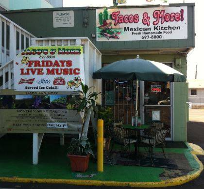 A photo of a Yaymaker Venue called TACO'S & MORE! MEXICAN KITCHEN - WAINAE located in WAINAE, HI