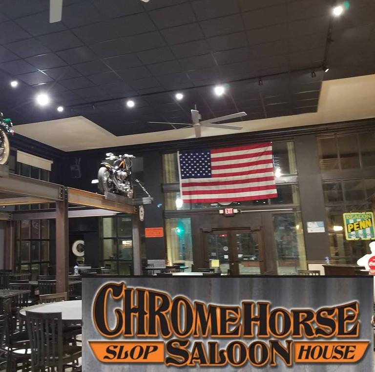 A photo of a Yaymaker Venue called Chrome Horse Saloon & Slop House located in Cedar Raoids, IA