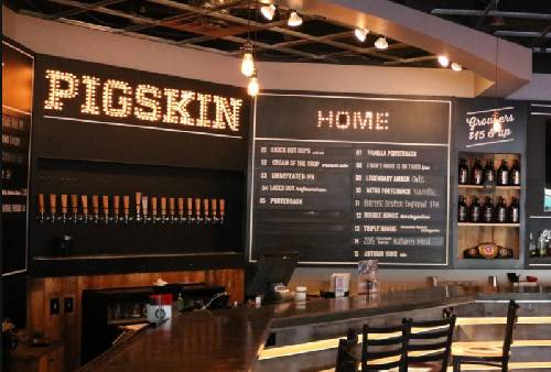 A photo of a Yaymaker Venue called Pigskin Brewing Co. located in Gahanna, OH