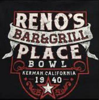 A photo of a Yaymaker Venue called Reno's  Place Bar, Grill & Bowl located in Kerman, CA