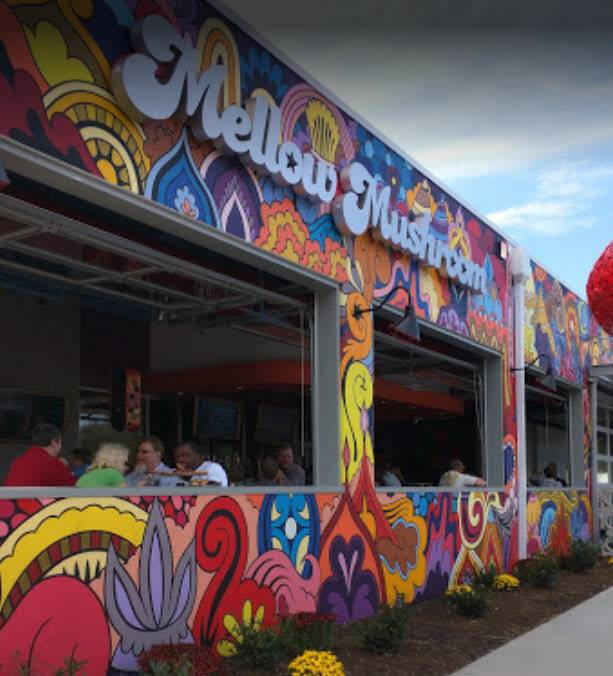 A photo of a Yaymaker Venue called Mellow Mushroom located in Roanoke, VA