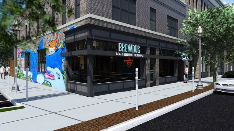 A photo of a Yaymaker Venue called Brew Dog Short North located in Columbus, OH