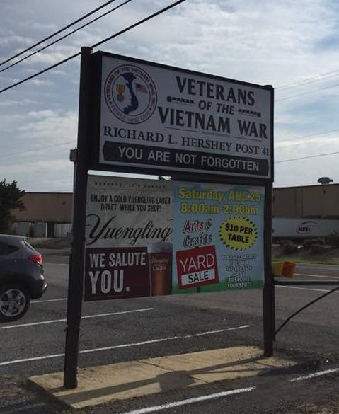 A photo of a Yaymaker Venue called Vietnam Veterans Post 41 located in Chambersburg , PA