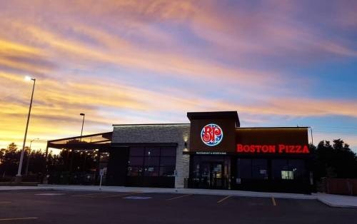 A photo of a Yaymaker Venue called Boston Pizza Ancaster located in Ancaster, ON