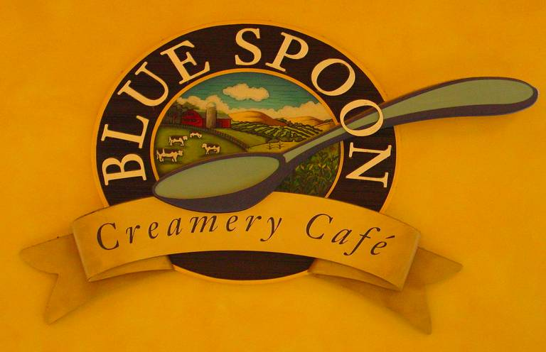 A photo of a Yaymaker Venue called The Blue Spoon Cafe located in Prairie Du Sac, WI