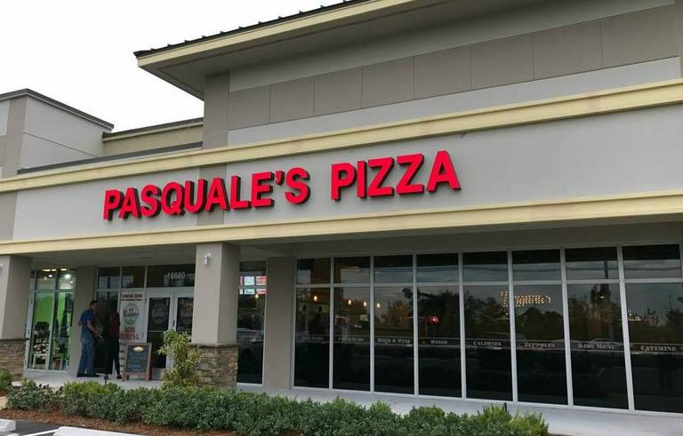 A photo of a Yaymaker Venue called Pasquale's Pizza located in Pembroke Pines, FL