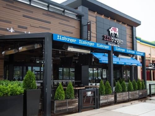 A photo of a Yaymaker Venue called Zinburger Wine & Burger Bar located in Edison, NJ