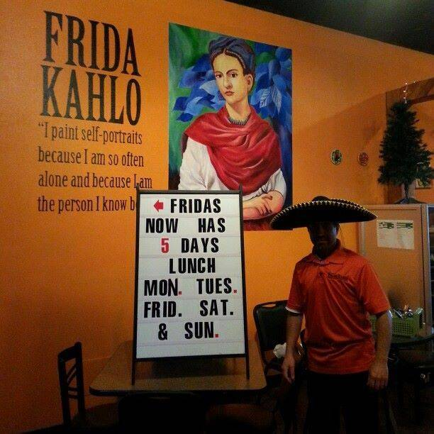 A photo of a Yaymaker Venue called Frida Kahlo's & Lucy's Bakery located in Solon, IA
