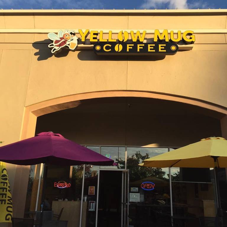 A photo of a Yaymaker Venue called Yellow Mug Coffee Shop located in Fresno, CA