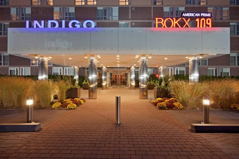 A photo of a Yaymaker Venue called Hotel Indigo Boston-Newton Riverside located in Newton, MA