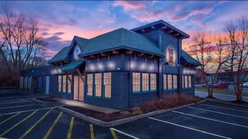 A photo of a Yaymaker Venue called Cork and Rye Gastropub located in Warwick, RI