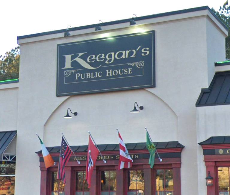 A photo of a Yaymaker Venue called Keegan's Irish Pub Woodstock GA located in Woodstock, GA