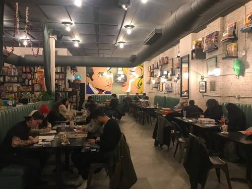 A photo of a Yaymaker Venue called Spielhaus Board Game Cafe - St. Clair West located in Toronto, ON