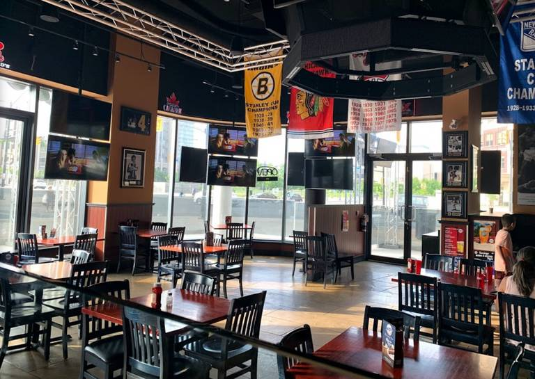A photo of a Yaymaker Venue called Allstar Wings - Square One Mississauga located in Mississauga, ON