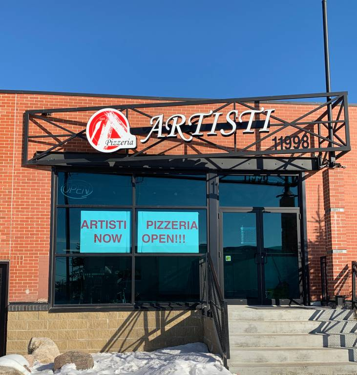 A photo of a Yaymaker Venue called Artisi Pizzeria located in Edmonton, AB