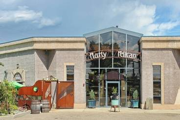 A photo of a Yaymaker Venue called Rusty Pelican located in Red Deer, AB