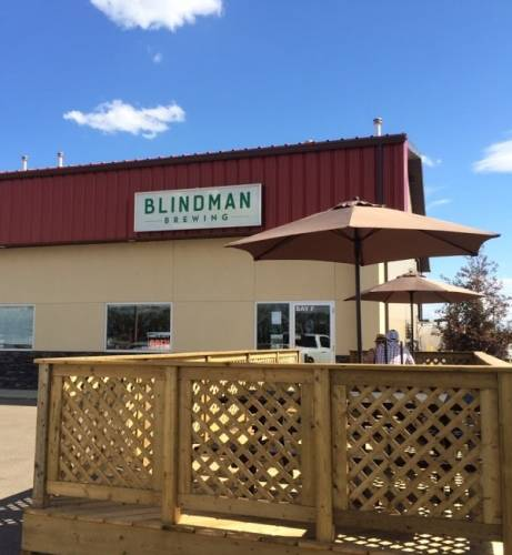 A photo of a Yaymaker Venue called Blindman Brewing located in Lacombe, AB