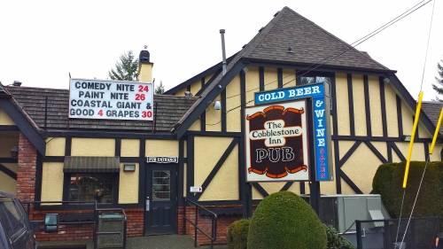 A photo of a Yaymaker Venue called The Cobblestone Pub located in Cobble Hill , BC