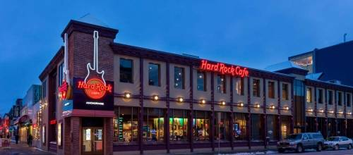 A photo of a Yaymaker Venue called Hard Rock Cafe Anchorage located in Anchorage, AK