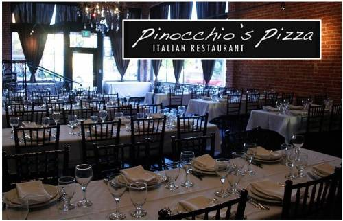 A photo of a Yaymaker Venue called Pinocchios Italian Restaurant Pasadena located in Pasadena, CA