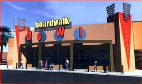 A photo of a Yaymaker Venue called Boardwalk Bowl located in Orlando, FL