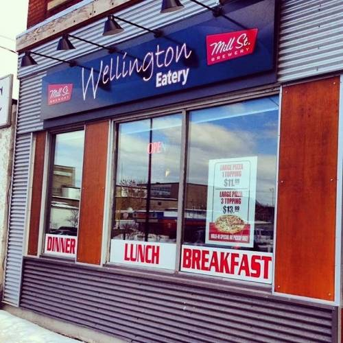 A photo of a Yaymaker Venue called Wellington Eatery located in Ottawa, ON