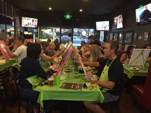A photo of a Yaymaker Venue called Ages 21+ 'Bout Time Pub & Grub - Painting Option Event located in St. George, UT